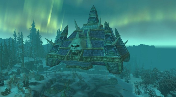 Naxxramas Wow Floating